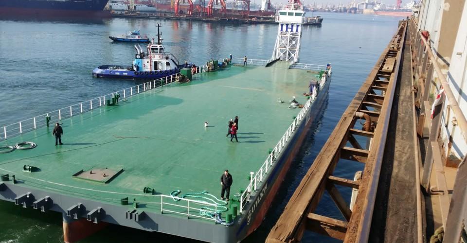 NB40 Positioning Barge-I 2014