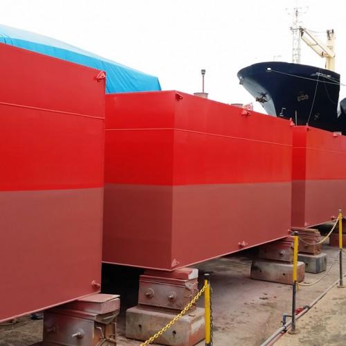 NB45 Anchor Pontoon Barge
